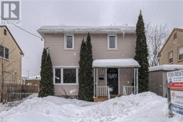 146 Marquette Avenue  Ottawa for rent