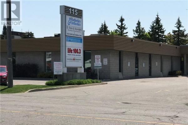 115 Bell Farm Road Unit# 106  Barrie for lease