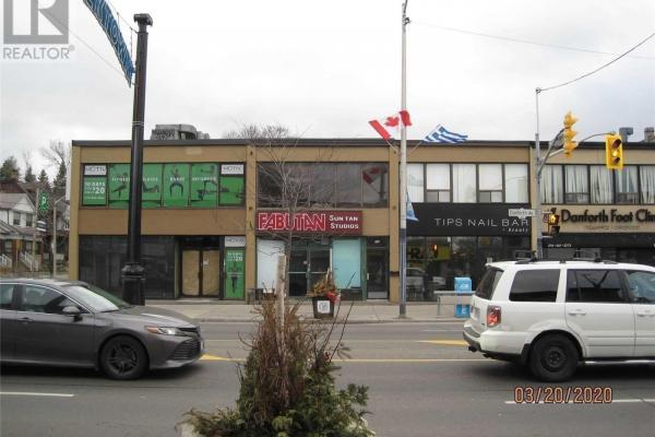 #2nd -844 Danforth Ave  Toronto for lease