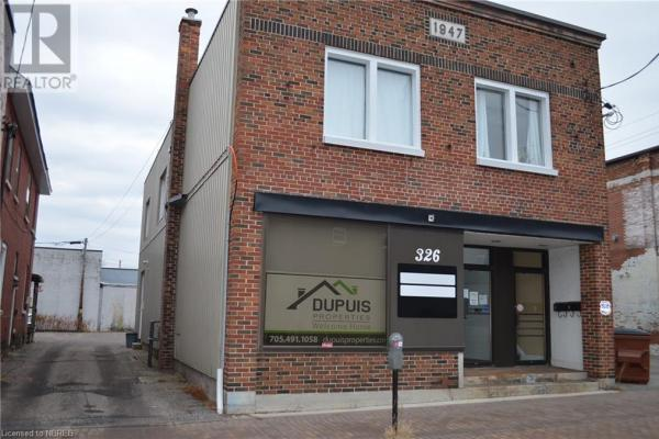 326 Mcintyre Street W  North Bay for lease