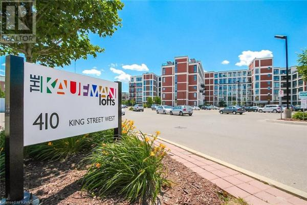 404 King Street W Unit# 118  Kitchener for lease