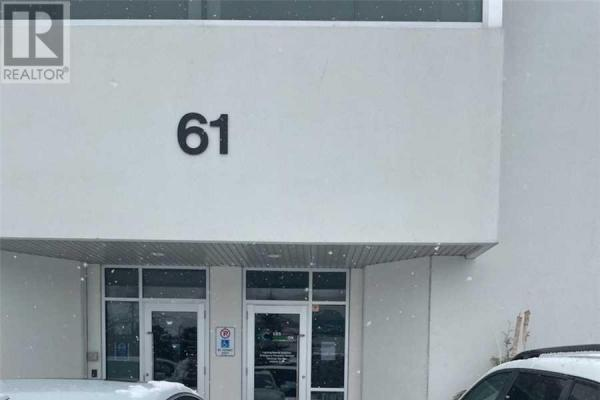 #2ground -61 Sharer Rd  Vaughan for lease